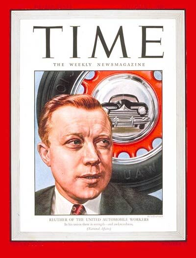 Walter Reuther, Time magazine, December 3, 1945