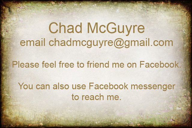 Chad McGuyre contact