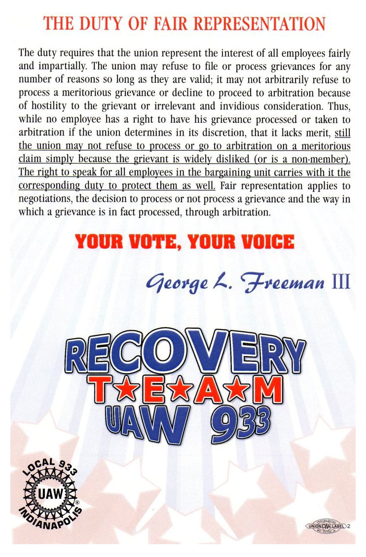 George Freeman Card Rev