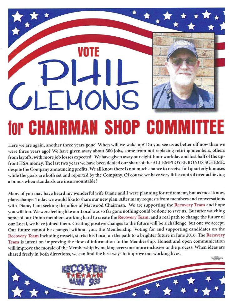Phil Clemons Obv