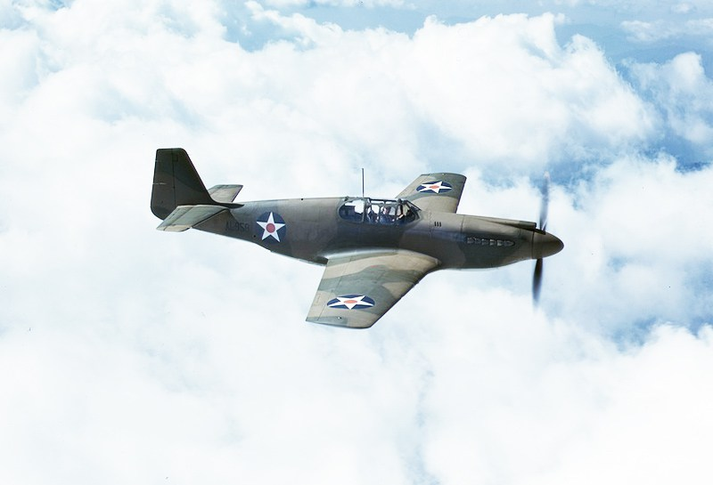 R.A.F. P-51 Mustang